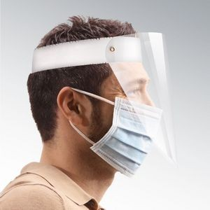 Compact Plastic Face Shield Made Of Food Grade Clear Plastic